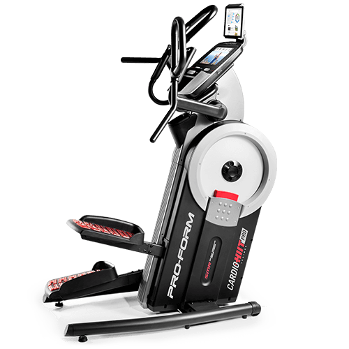 SMART HIIT Cardio Trainer - Elliptical + Stepper
