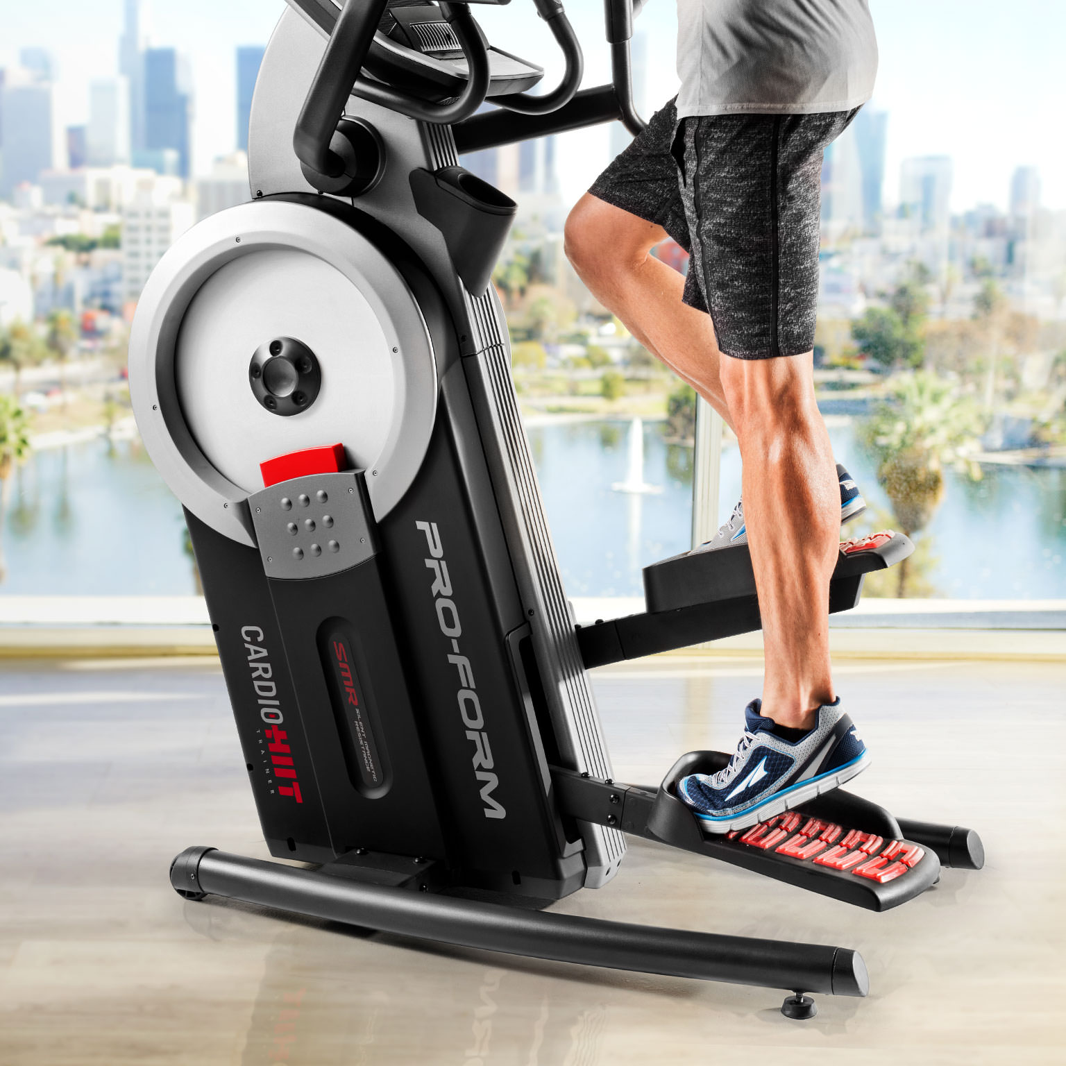 Smart Hiit Cardio Trainer Elliptical Stepper Proform Ground Off The Leg Of 12 Volt Pull Form Batteries In Series Burn More Calories Less Time With