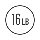 16 Lb. Inertia-Enhanced Flywheel Icon