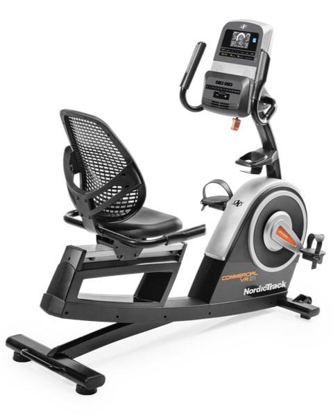 NordicTrack Commercial VR21 Recumbent Bike Series