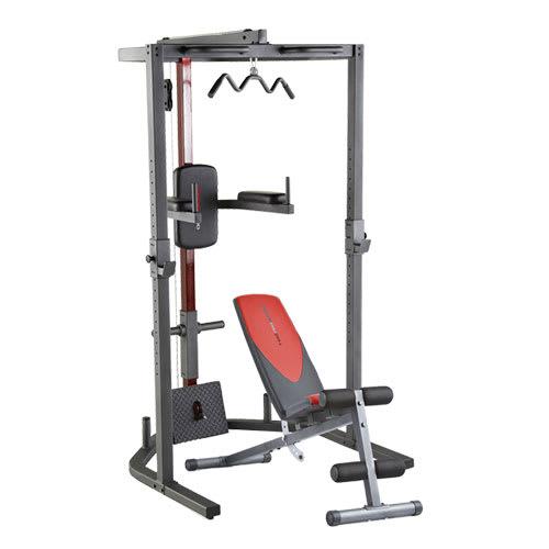 Destockage Fitness Musculation Pack Pro Power rack + Pro 255 L