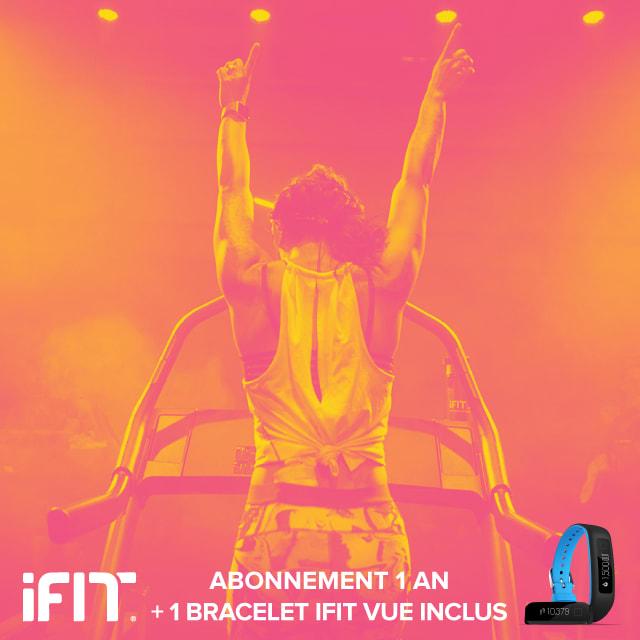 Destockage Fitness Accessoires Abonnement iFit 1 an + iFit VUE