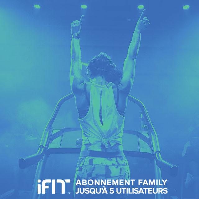 Destockage Fitness Accessoires Abonnement iFit Family 1 an