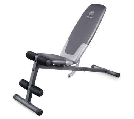 Workout Warehouse Strength Training Gold's Gym XR 5.9 Bench