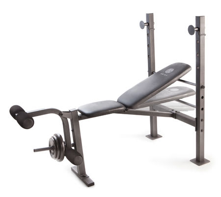 Workout Warehouse Strength Training Gold's Gym XR 6.1 Bench
