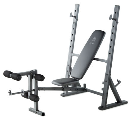 Workout Warehouse Strength Training Gold's Gym XR 10.1 Bench