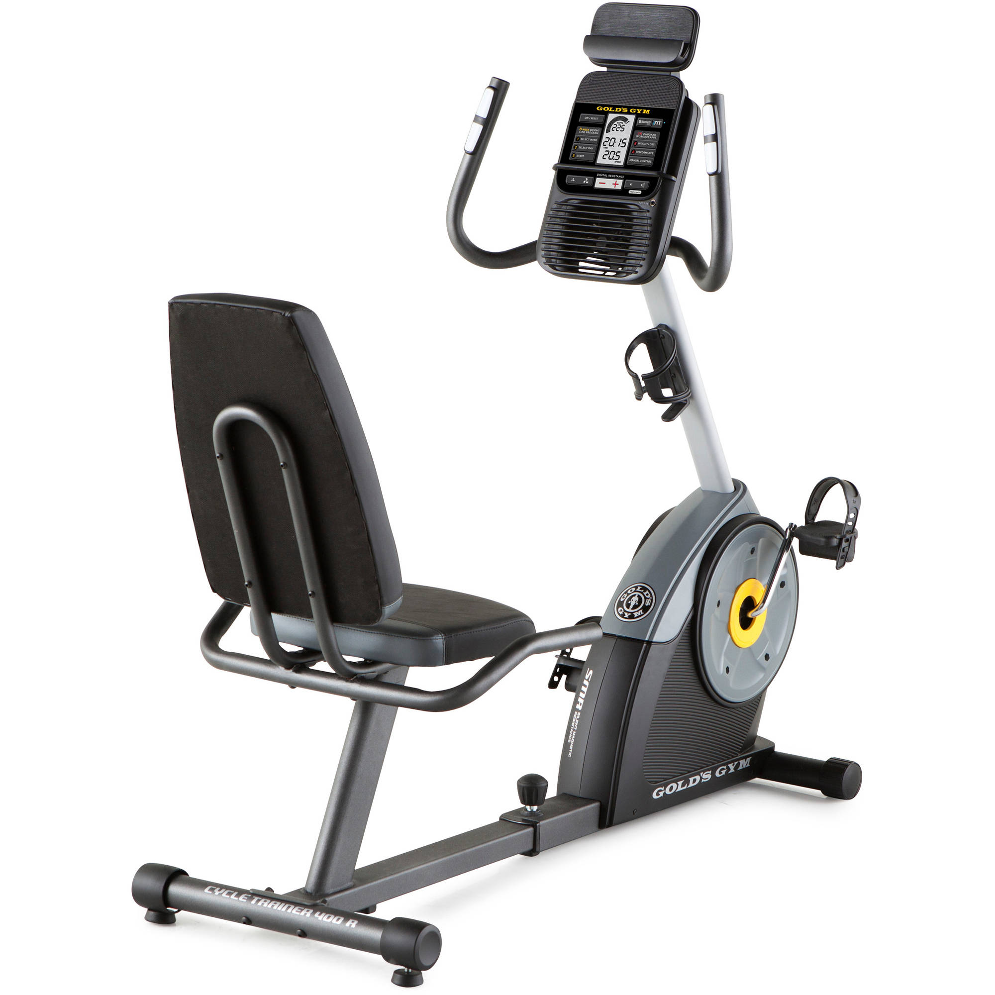 Workout Warehouse Exercise Bikes Gold's Gym Cycle Trainer 400 Ri Exercise Bike