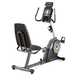 Workout Warehouse Gold's Gym Cycle Trainer 400 Ri Exercise Bike Exercise Bikes Gold's Gym Cycle Trainer 400 Ri Exercise Bike