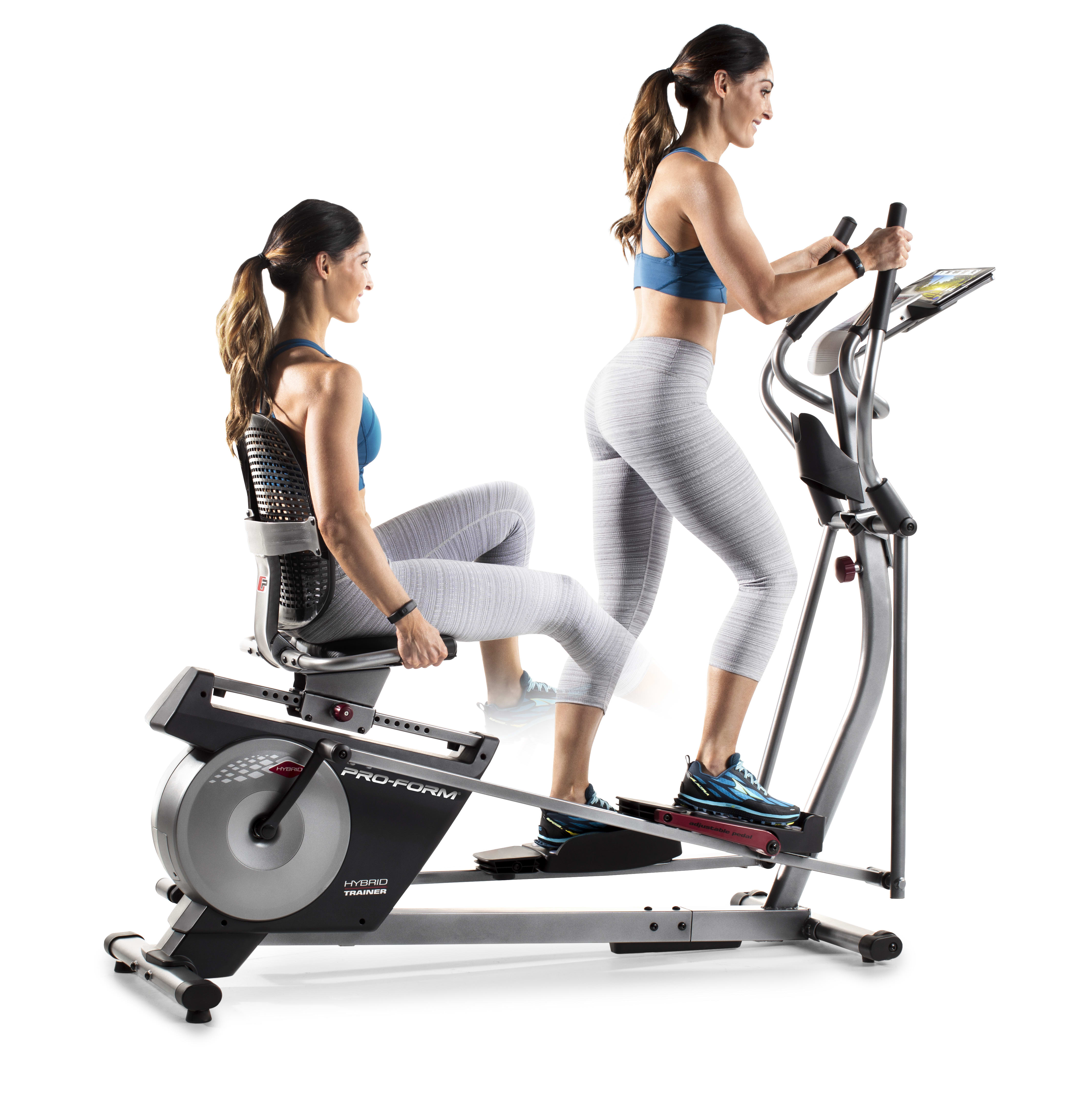 Workout Warehouse Ellipticals ProForm Hybrid XT Trainer