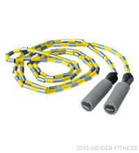 Workout Warehouse Weider Beaded Jump Rope Accessories