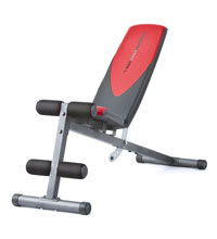 Workout Warehouse Weider Pro 225 L Bench Strength Training