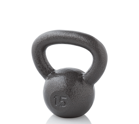 Workout Warehouse Gold's Gym 15 lb. Kettlebell Accessories