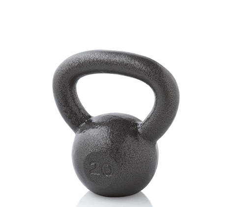 Workout Warehouse Gold's Gym 20 lb. Kettlebell Accessories
