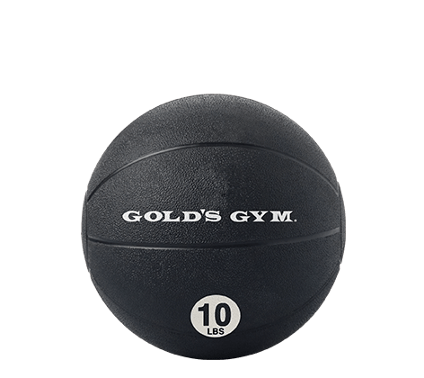 Workout Warehouse Accessories Gold's Gym 10 lb. Medicine Ball
