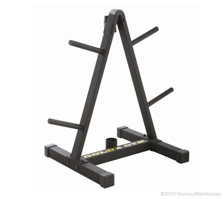 Workout Warehouse Gold's Gym Weight Plate and Barbell Storage Rack Accessories