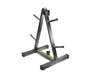 Workout Warehouse Gold's Gym Weight Plate and Barbell Storage Rack Accessories Gold's Gym Weight Plate and Barbell Storage Rack