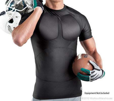 Workout Warehouse Accessories Gold's Gym Powerlift Training Short Sleeve Shirt M/L