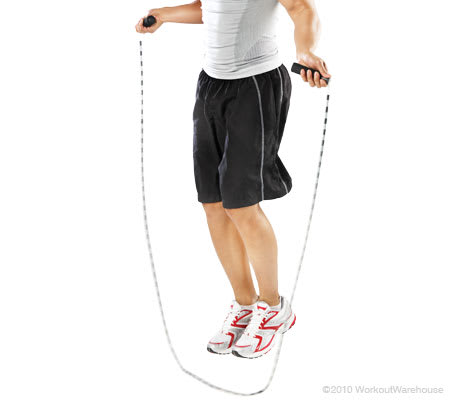 Workout Warehouse Accessories Gold's Gym Beaded Jump Rope