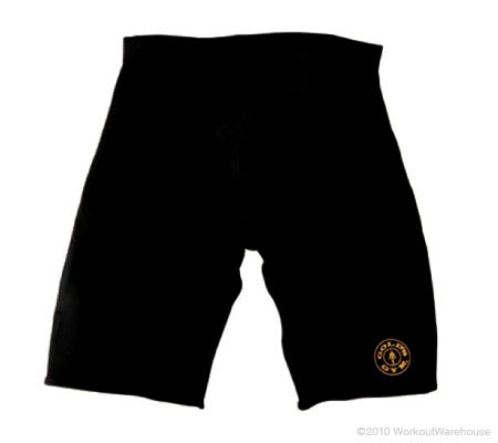 Workout Warehouse Accessories Gold's Gym Neoprene Shorts L/XL