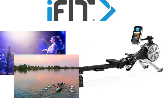 Carbon R7 Rower with iFIT