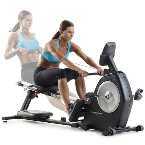 Proform Dual Trainer Bike/Rower gallery image 5