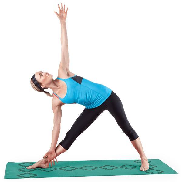 Lotus Alignment Mat Teal Proform