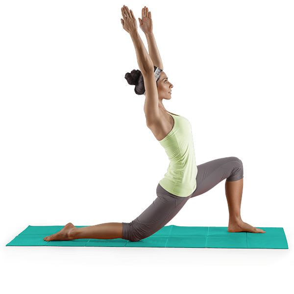 Proform Lotus™ Folding Yoga Mat-Blue gallery image 4