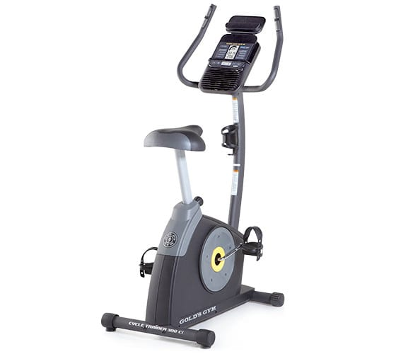 Get Gold's Gym Bikes Cycle Trainer 300 Ci