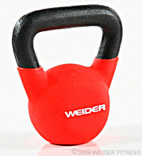 Weider Fitness Red Kettle Bell (10 lbs) Kettle Bells