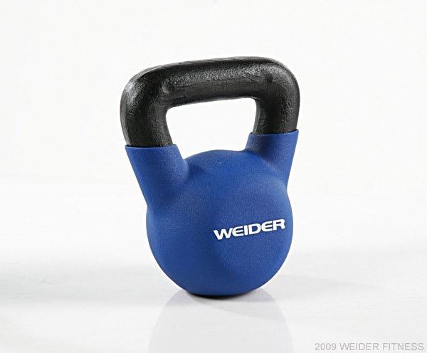Weider Fitness Kettle Bells Blue Kettle Bell (20 lbs)