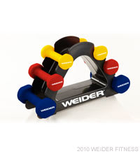 Weider Fitness 20 lb. Body Toning Set Free Weights