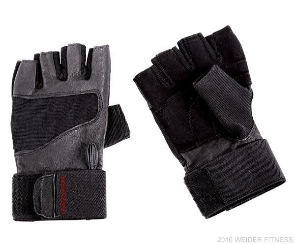 Weider Fitness Accessories Pro Wrist Wrap Training Glove (XL)