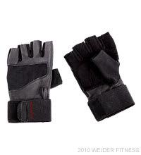 Weider Fitness Pro Wrist Wrap Training Glove (XL) Accessories