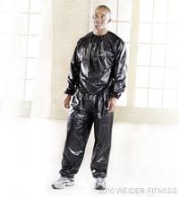 Weider Fitness Vinyl Reducing Suit Accessories