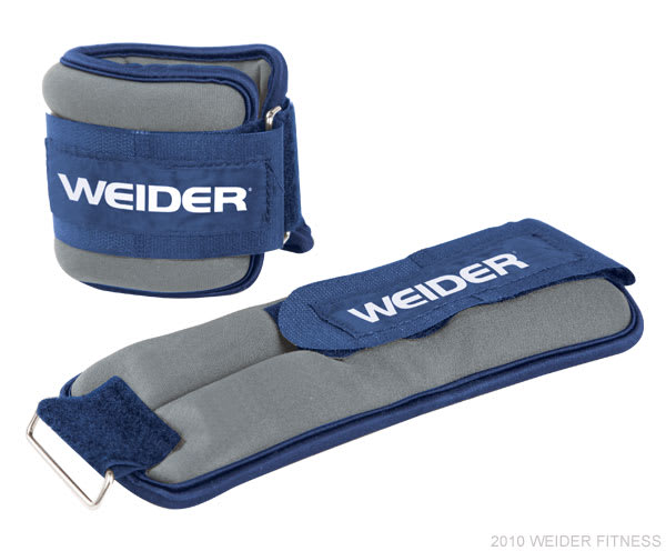 Weider Fitness Accessories Two 4 lb. Ankle Weights