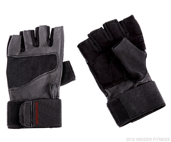 Weider Fitness Accessories Pro Wrist Wrap Training Glove (M)