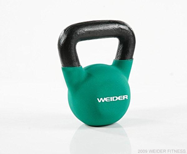 Weider Fitness Kettle Bells Green Kettle Bell (15 lbs)