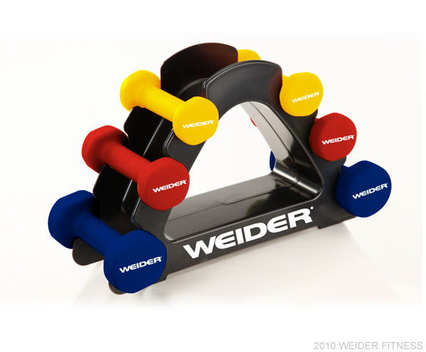 Weider Fitness Free Weights 20 lb. Body Toning Set