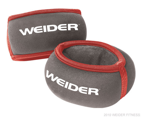 Weider Fitness Accessories Two 1 lb. Wrist Weights