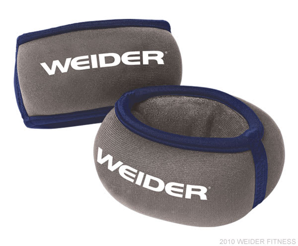 Weider Fitness Accessories Two 2 lb. Wrist Weights