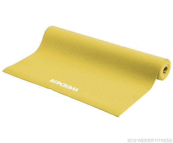 Weider Fitness Accessories Yoga Mat (Yellow)