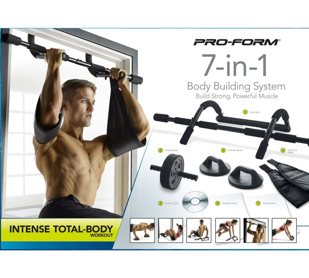 ProForm 7-in-1 Body Building System Cross Training