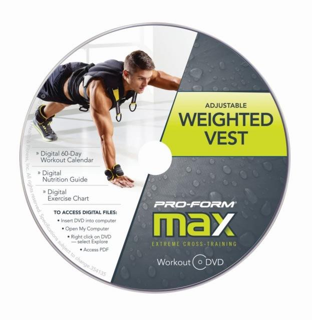 ProForm Cross Training Adjustable Weighted Vest  gallery image 4
