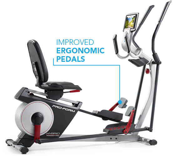 ProForm Hybrid Trainer Pro Hybrid Trainers Improved Ergonomic Pedals