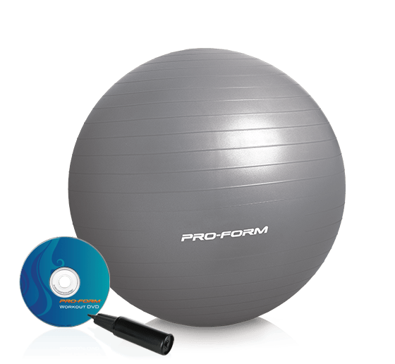 ProForm 55 Cm. Exercise Ball Accessories main category image for the 55 cm. Exercise Ball Accessory