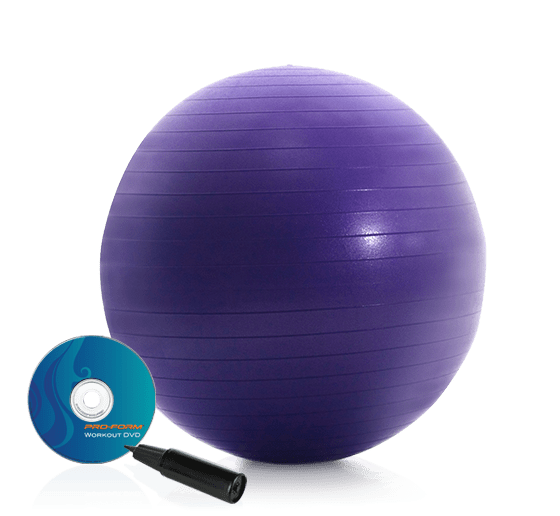 ProForm 55 Cm. Anti-Burst Fitness Ball Accessories main category image for the 55 cm. Anti-Burst Fitness Ball Accessory