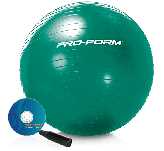 ProForm 65 Cm. Exercise Ball Accessories main category image for the 65 cm. Exercise Ball Accessory