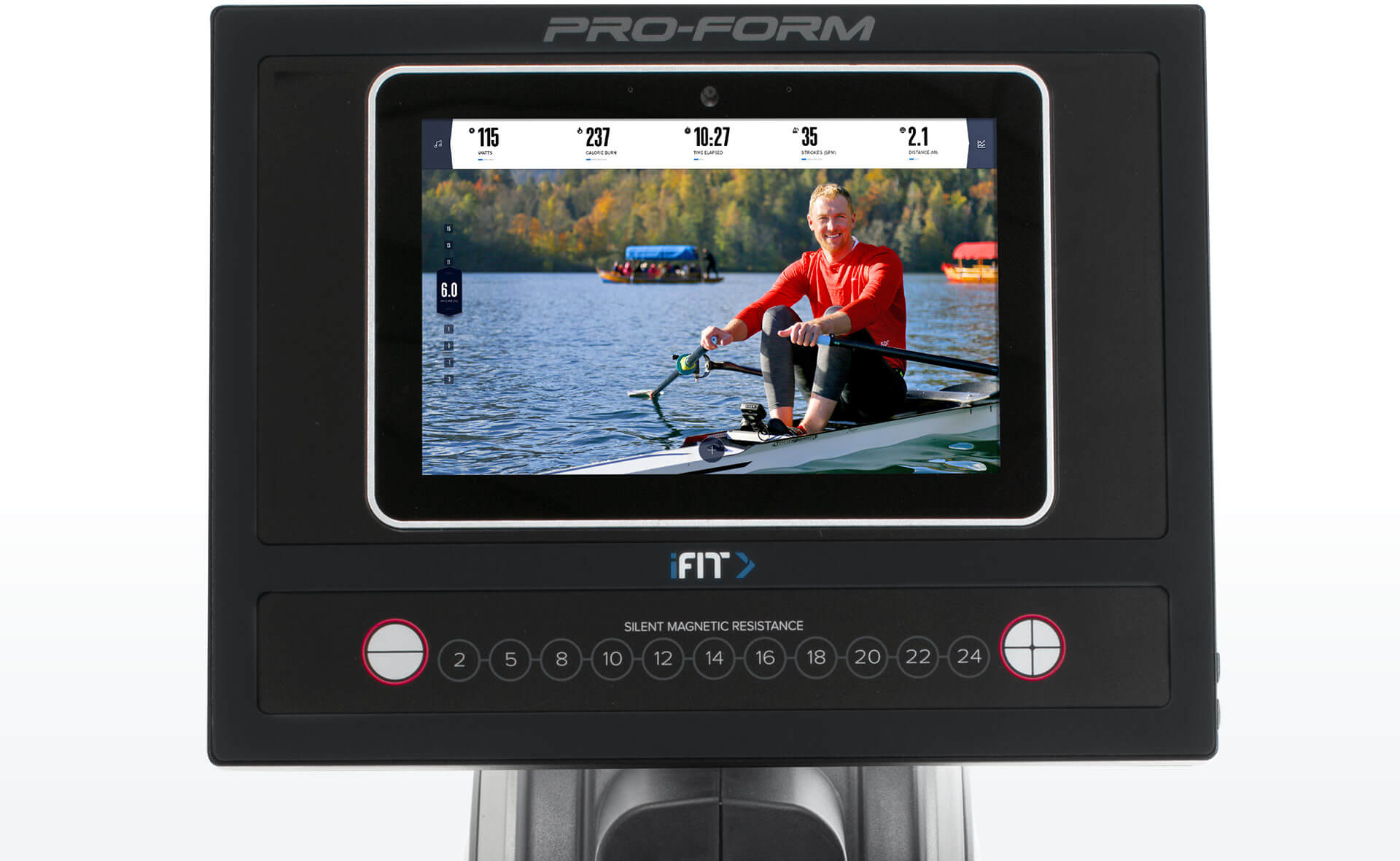 Pro R10 Rower Main Console