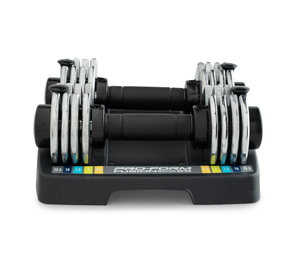 ProForm 12.5 lb. Adjustable Dumbbell Set Strength