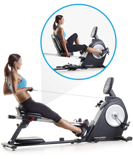 ProForm Out of Stock Dual Trainer Bike/Rower null